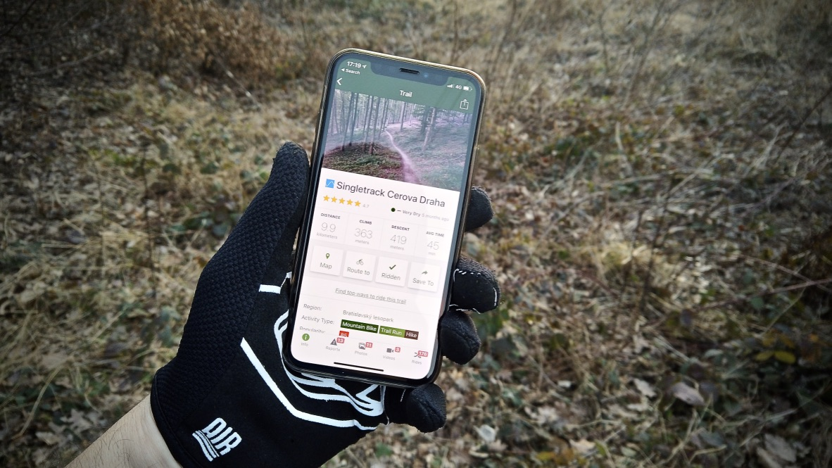 TrailForks App